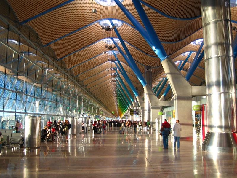 vuelos a madrid - aeropuerto de barajas